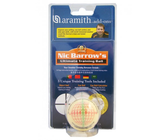 "Training Ball - 2.1/16"" Nic Barrow"