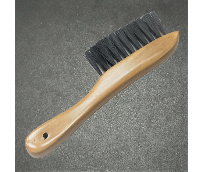 "For Table - 8.5"" Wooden Rail Brush (Nylon Hair)"