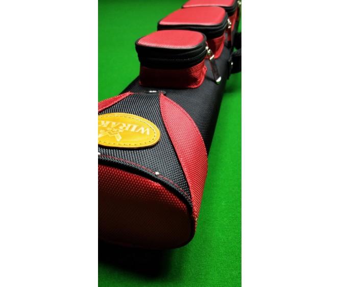 2 x 4 - Ballistic nylon black with red