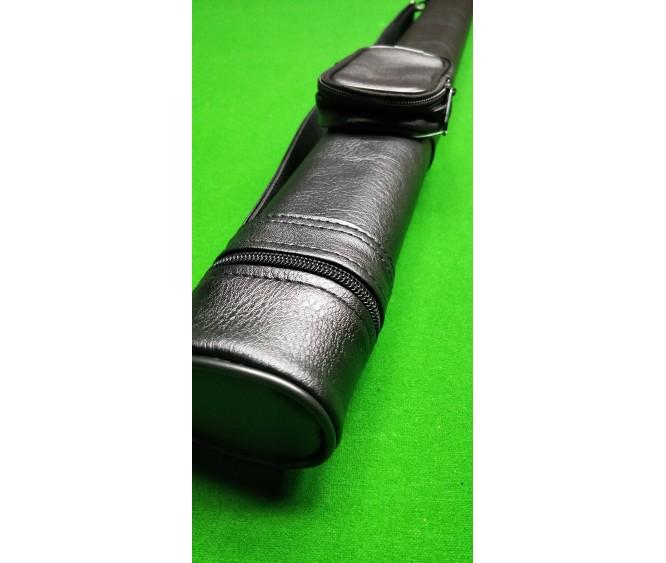 1 x 1 - Leatherette plain black