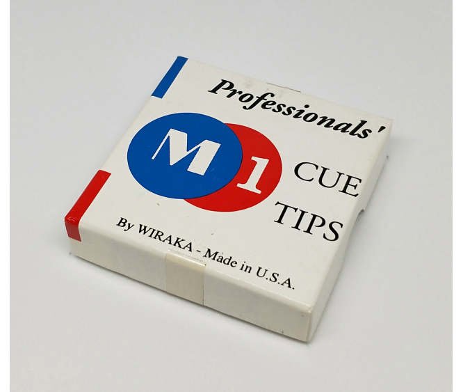 Box - M1 USA Prof Brown Cue Tip