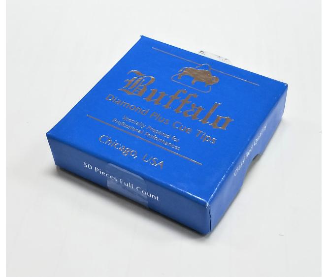 Box - Buffalo Diamond Plus Cue Tip