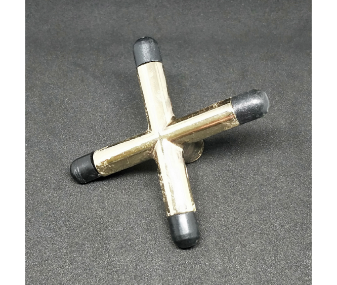 For Table - Brass Cross Rest Head With Toes