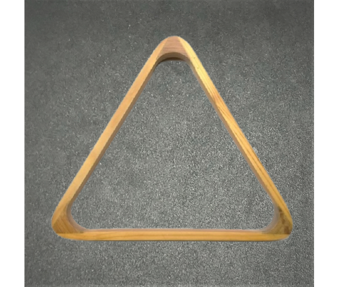 "2-1/16"" Deluxe Wooden Snooker Triangle"
